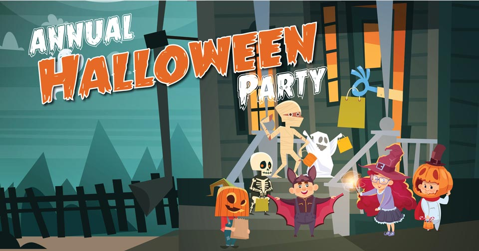Playworks Halloween Party 2018